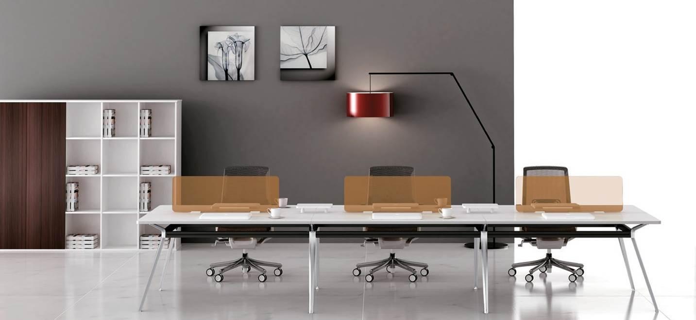 Workspace modular furniture, desks and chairs